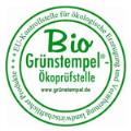 LOGO_Grünstempel® - Ökoprüfstelle e.V. EU-Kontrollstelle f ökologische Er- zeugung u. Verarbeitung lw Produkte