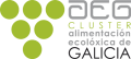 LOGO_Asociación Clúster da Alimentación Ecolóxica de Galicia Organic Food Cluster of Galicia