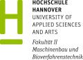 LOGO_Hochschule Hannover Fakultät II Maschinenbau und Bioverfahrenstechnik