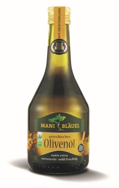 LOGO_Mani Bläuel griechisches Olivenöl extra BIO