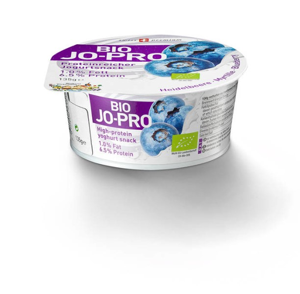 LOGO_BIO JO-PRO Protein yogurt blueberry 135g