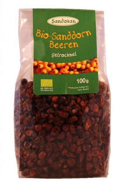 LOGO_Bio Sanddornbeeren getrocknet, 100 g