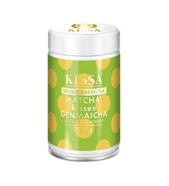 LOGO_KISSA Double Green Tea Matcha kisses Genmaicha