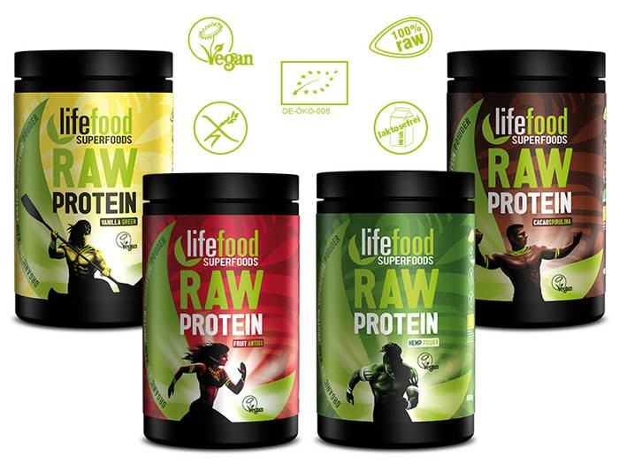 LOGO_New: Raw Protein Powder Instant Drinks