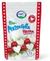LOGO_Bio Mozzarella Herzen 130g im Stehbeutel