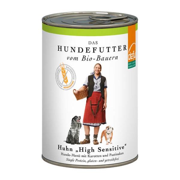 LOGO_Hund High sensitive - Menü Huhn getreidefrei