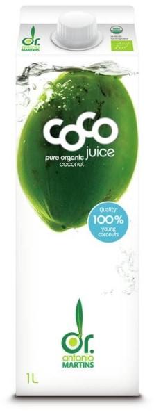 LOGO_coco juice pur - 1000ml Elopak mit Schraubverschluss