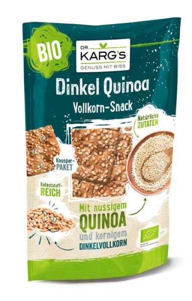 LOGO_Dr. Karg's Dinkel Quinoa Vollkorn-Snack