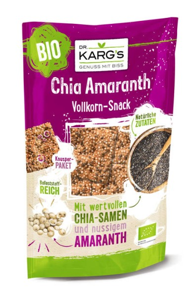 LOGO_Chia & Amaranth wholegrain snack