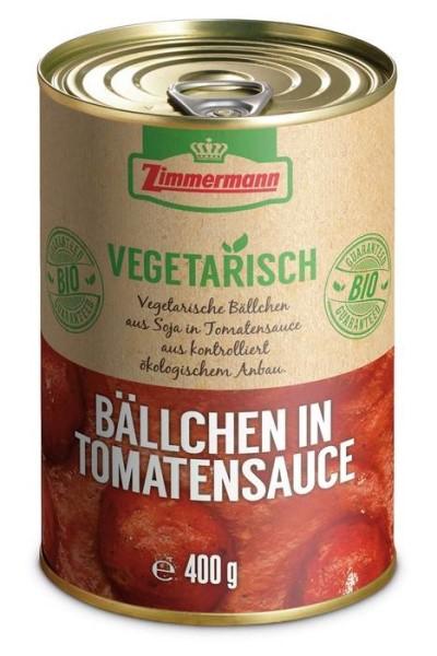 LOGO_Vegetarische Bällchen in Tomatensauce