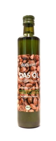 LOGO_duówell® DAS ÖL Bio Hanfnussöl