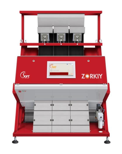 LOGO_Colour sorting machine model Zorkiy from CSort