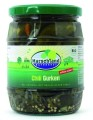 LOGO_Organic chili gherkins 580 ml