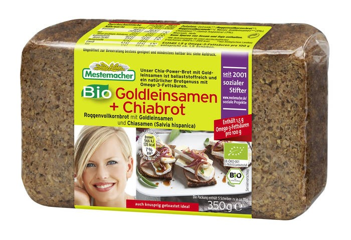 LOGO_Mestemacher Organic Golden Linseed + Chia Bread