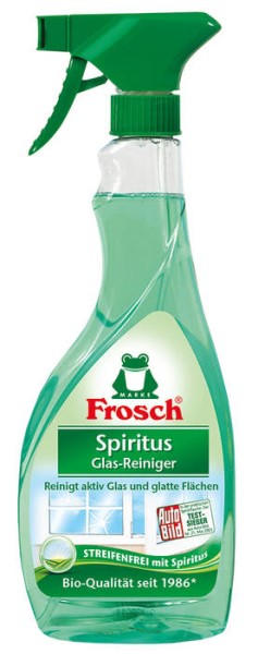 LOGO_Frosch Bio-Spirit Glass Cleaner