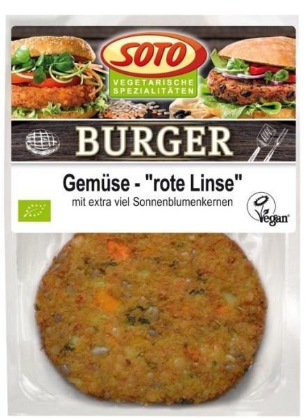 """LOGO_Burger Gemüse """"rote Linse"""""""