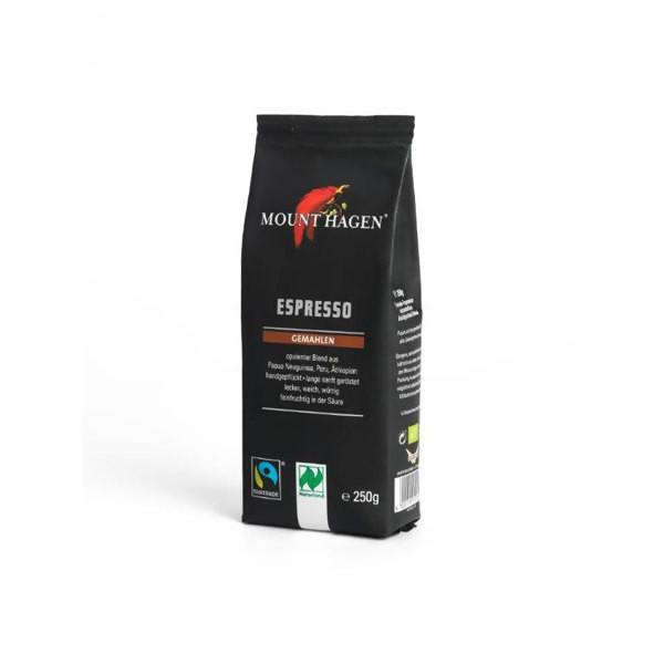 LOGO_Mount Hagen Espresso 250g, gemahlen