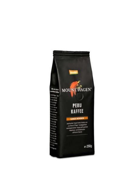 LOGO_Mount Hagen Demeter Röstkaffee 250g, ganze Bohne