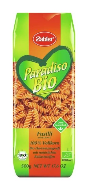 LOGO_Paradiso Organic wholegrain Fusilli