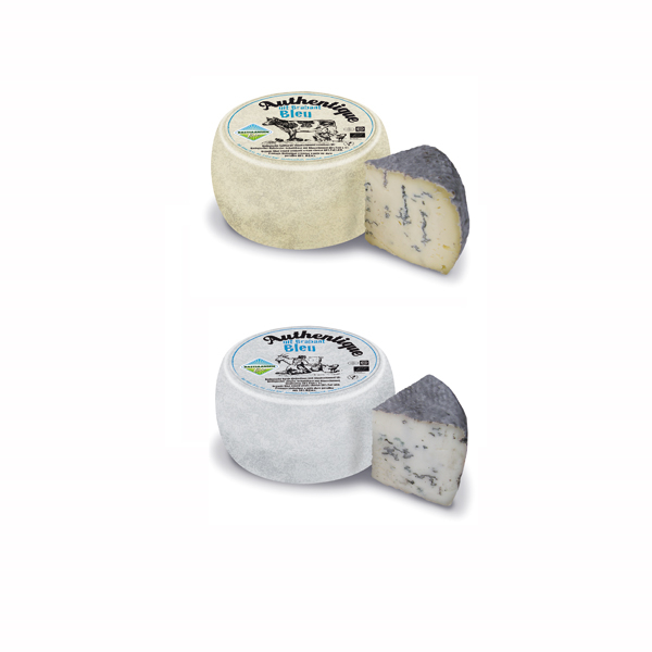 LOGO_Bastiaansen Authentique bleu: a robust, creamy blue veined cheese with a natural rind, from cows or goats milk