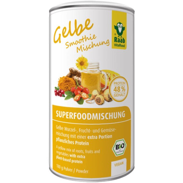LOGO_Organic Superfood Mix Yellow