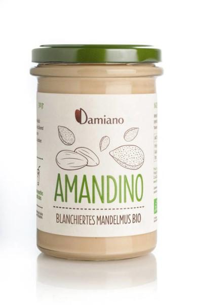 LOGO_Amandino - Blanchiertes Mandelmus bio