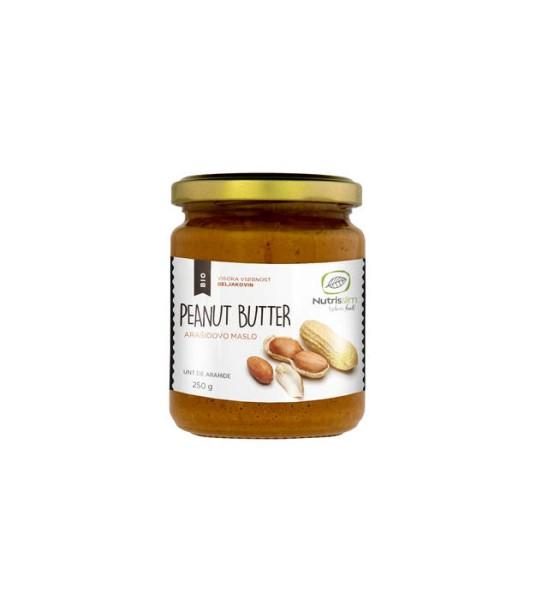 LOGO_Organic Peanut butter 250g