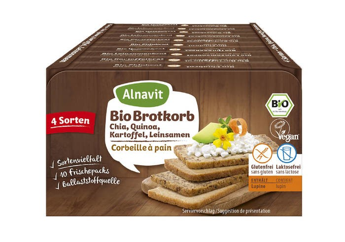 LOGO_Organic Bread Basket Gluten-free with Chia, Quinoa, Potato and Linseed