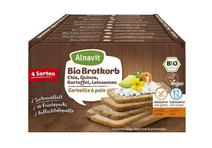 LOGO_Bio Brotkorb glutenfrei Chia, Quinoa, Kartoffel und Leinsamen