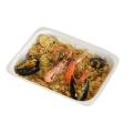 LOGO_Biopap® umweltfreundliche, abbaubare und kompostierbare Schalen für Lebensmittel, vom Tiefkühlschrank bis Ofen.