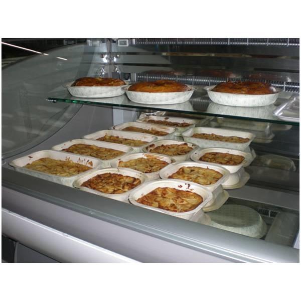 LOGO_BIOPAP® umweltfreundliche, kompostierbare, Schalen für Lebensmittel. Universelle Anwendung : Tiefkühlung, Erwärmen, Backen, Präsentierung.