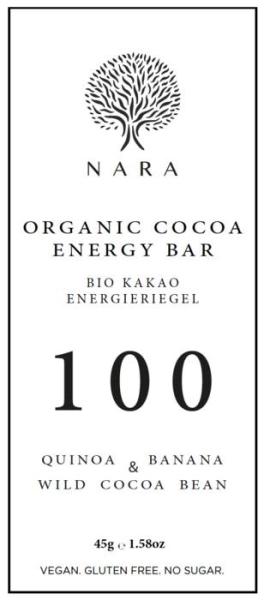 LOGO_Organic Cacao Energy Bar - 100% Wild Cacao