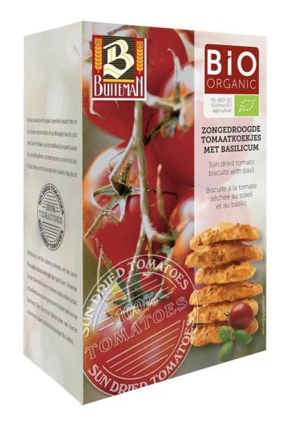 LOGO_Biogebäck mit sonnengetrocknete Tomaten & Basilikum
