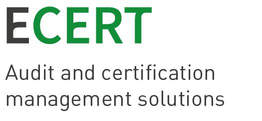 LOGO_Ecert – Management Software für Audits, Zertifizierungen und Supply Chain Integrity