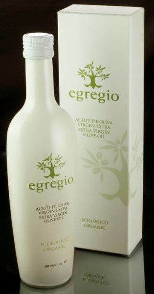 LOGO_EGREGIO, Biologisches Extra Natives Olivenöl.