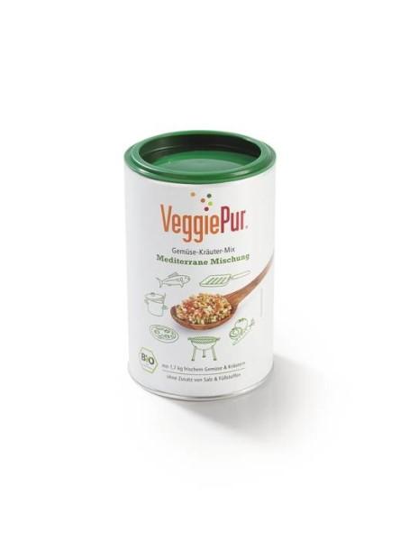 LOGO_VeggiePur Gemüse-Kräuter-Mix - Mediterrane Mischung