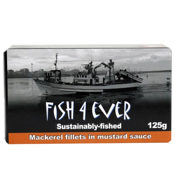 LOGO_Fish4Ever Makrelenfilets in Senfsauce