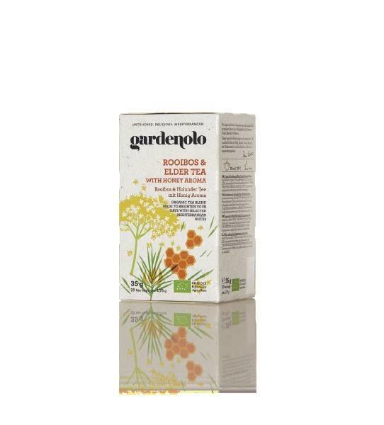 LOGO_Gardenolo Bio Rooibos und Holunder Tee mit Honig Aroma