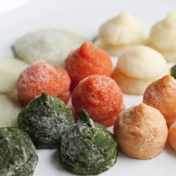 LOGO_Biologische Gemüse Pürees eingefroren in IQF Pellets
