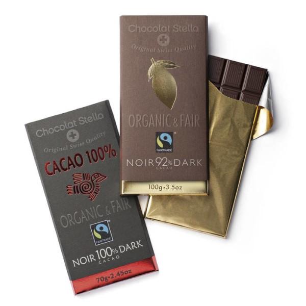 LOGO_Organic & Fair by Nature, 100 g Bars