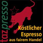 LOGO_Tazpresso – Organic Fairtrade Coffee