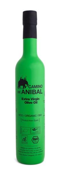 LOGO_Camino de Anibal Organic Extra Virgin Olive Oil 500 ml. Coupage: 90% Arbequina 10% Hojiblanca