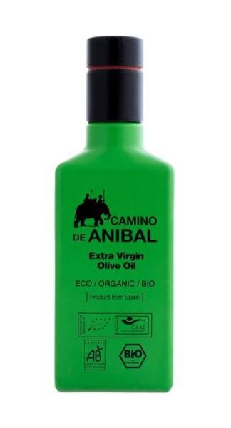 LOGO_Camino de Anibal Organic Extra Virgin Olive Oil 250 ml. Coupage: 90% Arbequina 10% Hojiblanca.