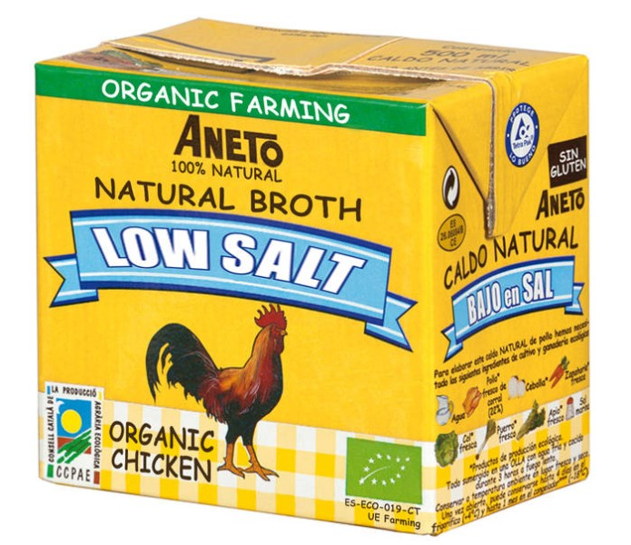 LOGO_ORGANIC LOW SODIUM CHICKEN BROTH 500ML
