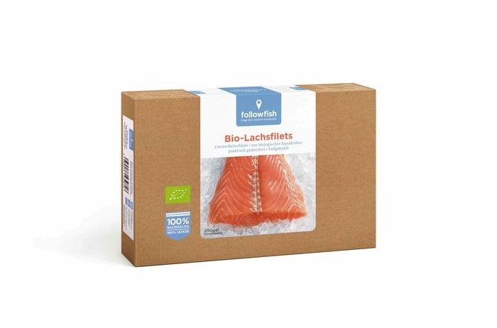 LOGO_followfish Bio Salmon Filets 200g