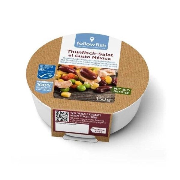 LOGO_followfish MSC Tuna Salad el Gusto México 160g