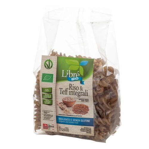 LOGO_Whole Rice and Teff Fusilli, Gluten Free
