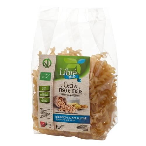 LOGO_Chickpea & Rice and Corn Fusilli, Gluten Free