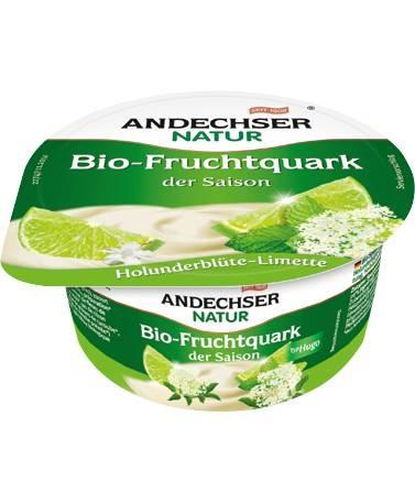 LOGO_ANDECHSER NATUR Bio Fruchtquark der Saison Holunderblüte-Limette