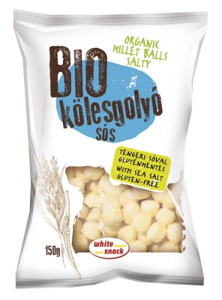 LOGO_White Snack organic salty millet balls 150g